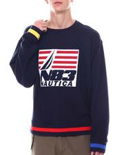 Sweatshirts & Sweaters - Chest Patch Crew Sweatshirt-2569065