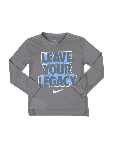Nike - Leave Your Legacy Long Sleeve Tee (4-7)