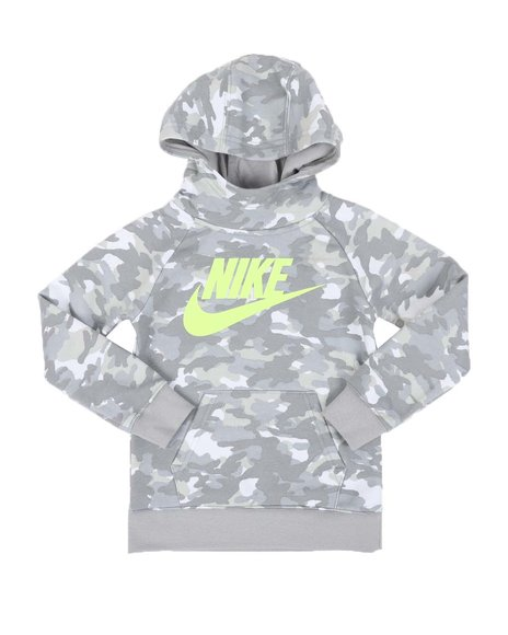 Nike - Crayon Camo AOP Pullover Hoodie (4-7)