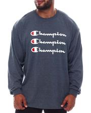Champion - Triple Logo Long Sleeve T-Shirt (B&T)-2567423