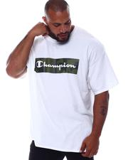 Champion - Camo Box Logo T-Shirt (B&T)-2569487