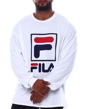 Fila - Box Logo Long Sleeve T-Shirt (B&T)-2569922
