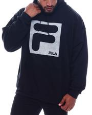 Big & Tall Faves - Rectangle Logo Hoodie Sweatshirt (B&T)-2569930