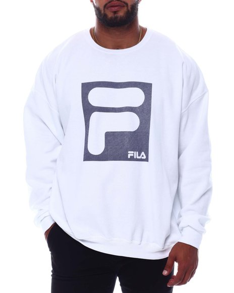 Fila - Rectangle Logo Crewneck Sweatshirt (B&T)