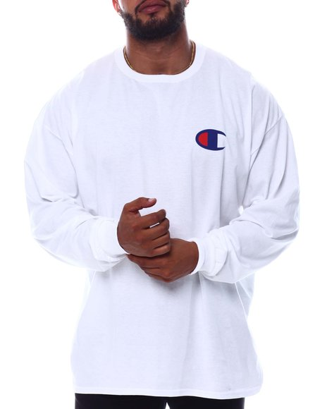 Champion - Double Hit Long Sleeve T-Shirt (B&T)