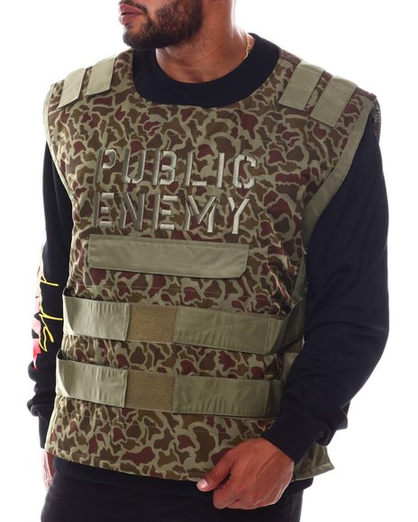 Makobi - Public Enemy Vest (B&T)