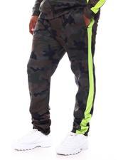 Rebel Minds - Camo Side Stripe Track Pants (B&T)-2569890
