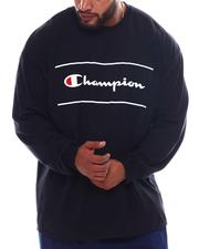 Champion - Script Long Sleeve T-Shirt (B&T)-2569456