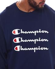 Champion - Triple Logo Long Sleeve T-Shirt (B&T)-2569561