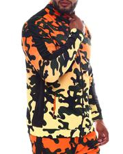 Light Jackets - Camo Gradient Zip Up Track Jacket (B&T)-2569894