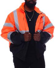 Light Jackets - 2 Tone Neon Reflector Jacket (B&T)-2570914