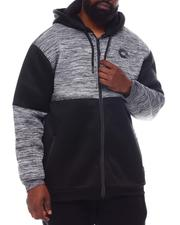 Light Jackets - Sherpa Zip Up Hoodie (B&T)-2570325