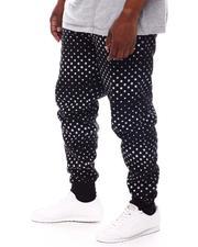 Buyers Picks - Stars Printed Fleece Jogger Pants (B&T)-2569912