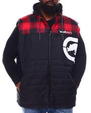 Ecko - Lumber Jack Hooded Vest (B&T)-2570059