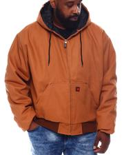 Light Jackets - Heavy Duty Hooded Jacket (B&T)-2570892