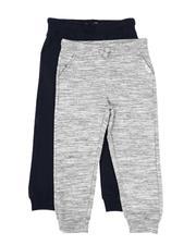 Weatherproof - 2 Pack Fleece Jogger Pants (4-7)-2566824