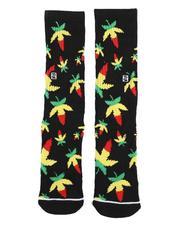 PSD UNDERWEAR - Weed Rasta Socks-2568993