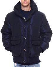 Men - HEAVY SHEEN BOMBER PARKA JACKET-2571715