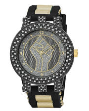 Jewelry & Watches - Fist Fashion Bling Watch-2571514