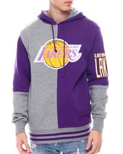 Mitchell & Ness - LOS ANGELES LAKERS Split Color Hoodie-2568860