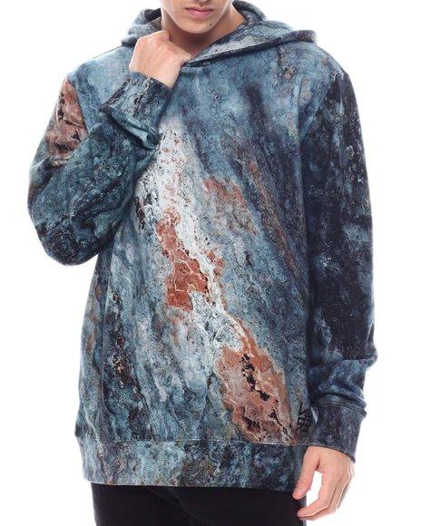 Hugo Boss - Dodran Mineral Print Hoodie