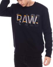 Sweatshirts & Sweaters - Raw dot r Crewneck Sweatshirt-2571362