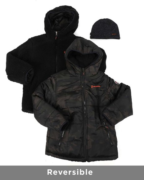 Free Country - Reversible Puffer Jacket (8-20)