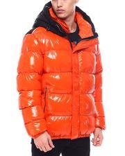 Outerwear - Matte Color Block Glazed Nylon Jacket-2568484