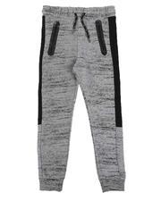 Sweatpants - All Over Streak Print Fleece Joggers (8-18)-2570634