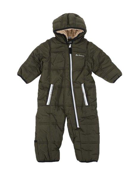Ben Sherman - Polar Fleece Lined Pram W/ Sherpa Hood (Infant)