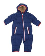 Boys - Polar Fleece Lined Pram W/ Sherpa Hood (Infant)-2564099