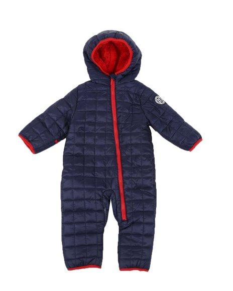 DKNY Jeans - Quilted Snowsuit Pram (Infant)
