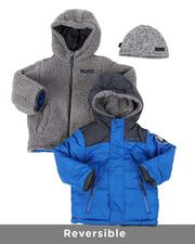 Heavy Coats - Reversible Puffer Jacket (2T-4T)-2563992