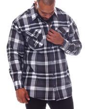 Buyers Picks - Plaid Woven Long Sleeve Shirt (B&T)-2570502