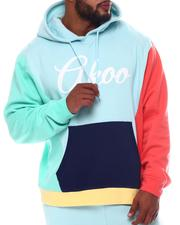 AKOO - Fresh Pullover Colorblock Hoodie (B&T)-2572337