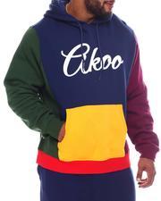 AKOO - Fresh Pullover Colorblock Hoodie (B&T)-2572341