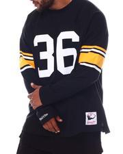 Mitchell & Ness - Steelers Jerome Bettis Long Sleeve Shirt (B&T)-2572392