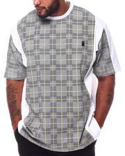 Men - Jersey Plaid T-Shirt (B&T)-2570577