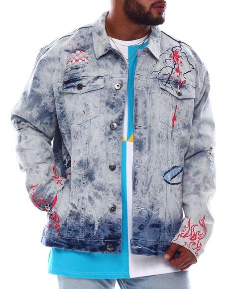 Makobi - Fire Denim Jacket (B&T)