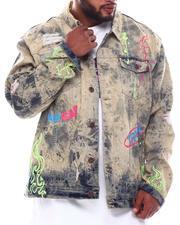 Denim Jackets - Fire Denim Jacket (B&T)-2571671