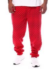 Men - Stars Printed Fleece Jogger Pants (B&T)-2572028