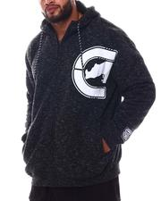 Ecko - Spaced Out Full Zip Sherpa Hoodie (B&T)-2572173