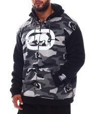 Ecko - Center Stage Full Zip Sherpa Hoodie (B&T)-2572193