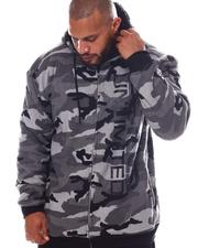 Ecko - Level Up Full Zip Sherpa Hoodie (B&T)-2572183