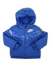 Heavy Coats - Color Block Heavy Puffer Jacket (2T-4T)-2566721