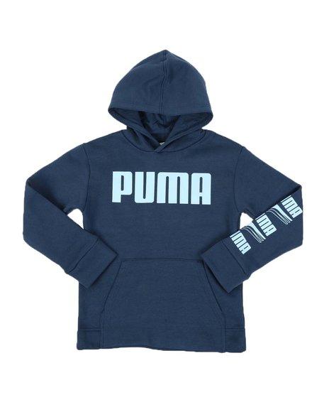 Puma - Rebel Bold Pack Fleece Pullover Hoodie (8-20)