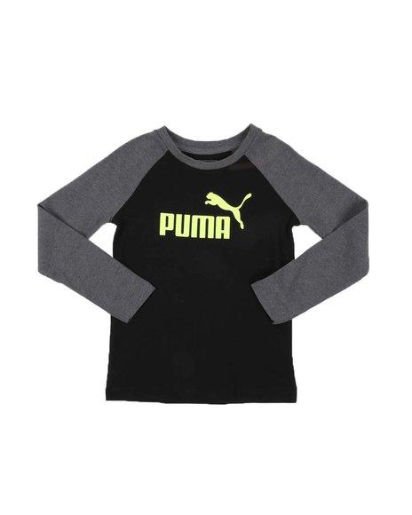 Puma - No. 1 Logo Pack Long Sleeve Raglan Tee (4-7)