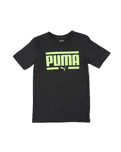 Puma - No. 1 Logo Pack Heathered Graphic Tee (8-20)