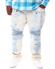Big & Tall - Paint Splatter Biker Jeans (B&T)-2573290