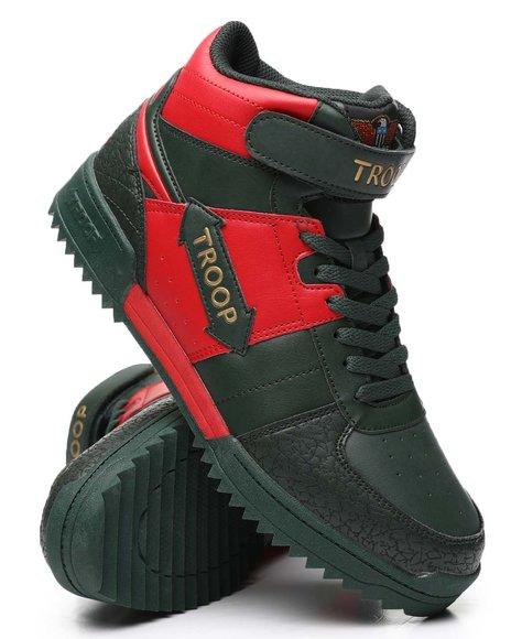 TROOP - Crown Mid Ripple Sneakers